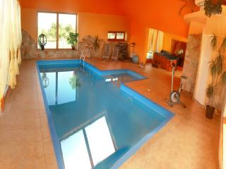 Wellness villa with pool, jacuzzi and sauna for 12, Siofok