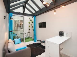 Superb 1BD with mezzanine, A/C, Little outside are