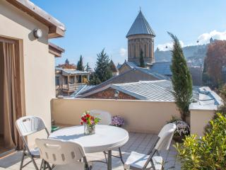 Old Tbilisi Home with Sunny Terrace