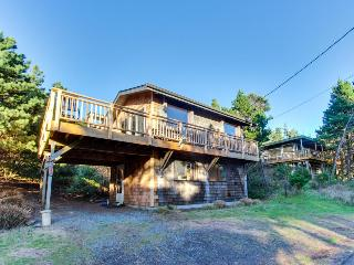 Pet-friendly, oceanview home in lovely Manzanita