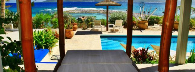 Villa Three Dolphins SPECIAL OFFER: Anguilla Villa 47 Overlooking Its Own Secluded Strand Of White Sand Beach.
