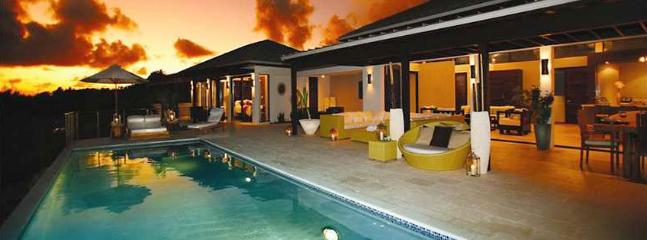 AVAILABLE CHRISTMAS & NEW YEARS: Anguilla Villa 16 Sitting On The South Shore, Anguilla Villa 16 Commands Stunning Views Of The Secluded Cove Beach And The Mountains Of St. Martin.