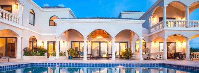 Villa Sandcastle AVAILABLE CHRISTMAS & NEW YEARS: Anguilla Villa 51 On The North Shore Of Anguilla With Magnificent Views Of The Ever Changing Shades Of Blue Of The Atlantic Ocean.