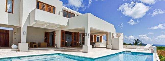 White Cedars Villa AVAILABLE CHRISTMAS & NEW YEARS: Anguilla Villa 54 Designed By Its British Owners To Create A Simple And Calming Space For A Relaxing Holiday.