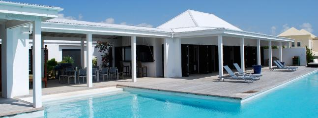 SPECIAL OFFER: Anguilla Villa 18 Below The Swimming Pool Overflow, A Small And Separate Sundeck, Overlooking The Sea, Will Guarantee Your Privacy., Blowing Point