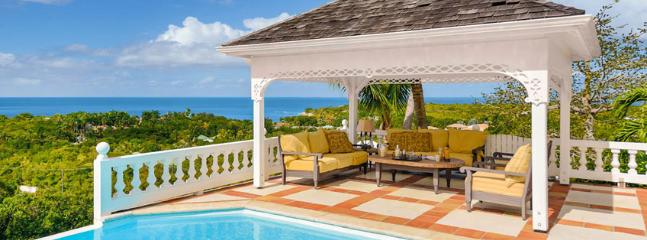 SPECIAL OFFER: St. Martin Villa 265 Breathtaking Panoramas Of The Caribbean Sea, The Atlantic Ocean And The Islands Of Saba And Anguilla., Terres Basses