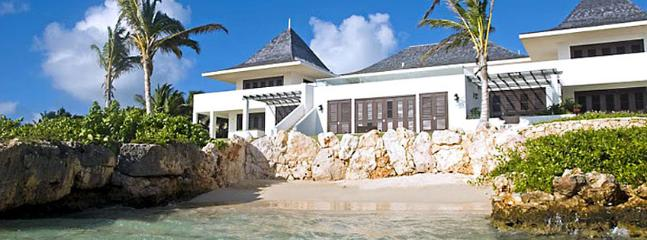 Villa Le Bleu SPECIAL OFFER: Anguilla Villa 139 Tropical Gardens With Two Swimming Pools And Small Natural Beach, Beach Pavilion, Tennis Court, Gym And Personal Cinema., Little Harbour