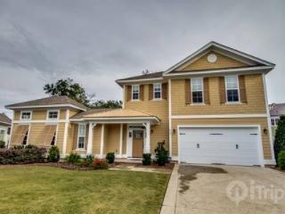 North Beach Plantation Lux Beach Home 4 BR 4.5 BA. Sleep 12 with Private Pool plus 2.5 Acres Pools., North Myrtle Beach