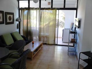Nicely furnished second floor apartment in a pretty, gated condominium with 24 hour security, Sosua