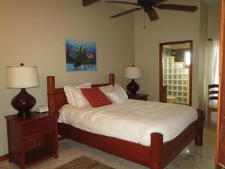 Ocean, Pool, Garden View from 3BR Villa 4B, Belize Cayes