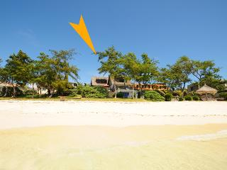 Villa Palmar Plage beachfront white sandy beach, Trou d'eau Douce