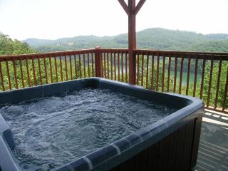 Eagles Nest is perched on the side of a mountain with very nice scenic views of Norris Lake., New Tazewell