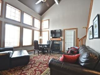 3BR Disciples Village Ski In/Ski Out Condo - Slopeside on Boyneland Run, Completely Remodeled, Sleeps 12, Boyne Falls