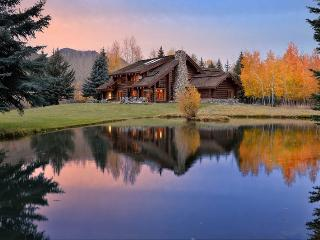 Sheep Meadows Lane 113, Ketchum - Log Home on a Riverside Property