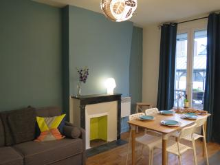 Cosy apt, trendy Canal Saint Martin, 2-5 people, Paris
