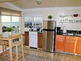 Remodeled Beach Rental, 1br/1ba, shared firepit, bbq, patio, on the ocean #9, Oceanside