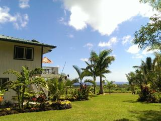 Charming off-grid house with ocean view, Pahoa