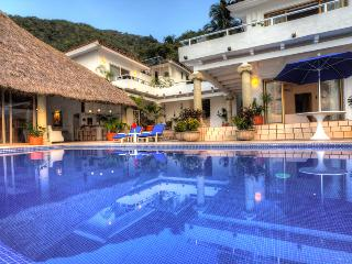 Mexico Luxury Family Villa on Los Gatos Beach Cook, Puerto Vallarta