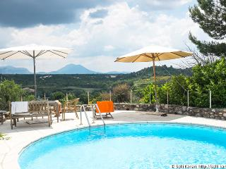 spacious holiday home with private pool, Puimoisson