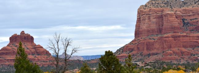close to the vortexes of Bell Rock and Courthouse Rock