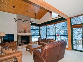 Floor to Ceiling Windows Display Beautiful Pines!, Keystone