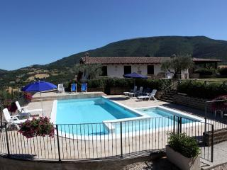 SoleLuna Assisi Apartment 2 rooms with pool, Assise
