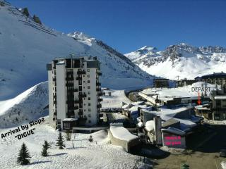 NEW Studio Tignes 2100m !!