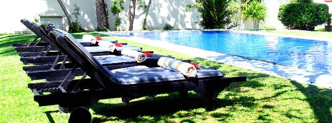 sun-beds prepared for you