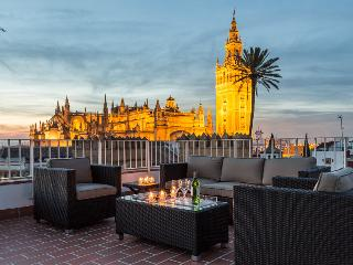 4 bedroom attic with rooftop terrace with views, Seville
