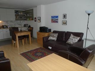 1 bed apartment sleeps 4 with Gym and pool, Londres