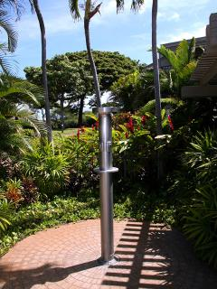 Out Door Beach Shower at Wailea Ekolu Village 607