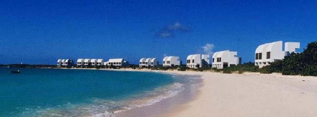 Cove Castles 3 Bedroom Villa AVAILABLE CHRISTMAS & NEW YEARS: Anguilla Villa 68 A Luxurious, Private 3-bedroom Homes Situated Directly On The Beach., West End Village