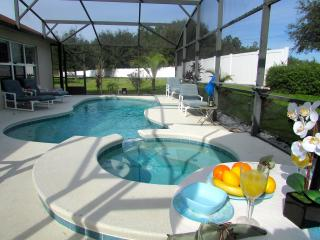 LUXURIOUS DISNEY AREA VACATION VILLA PRIVATE POOL, Davenport