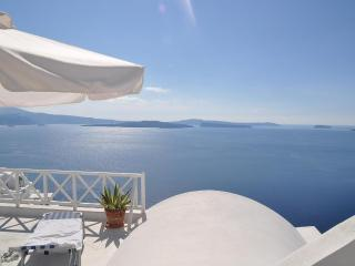 Magic view of the Caldera from Thea Studios, Oia