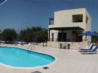 Villa Angelos with private gated pool, Almyrida