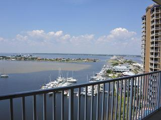 $119/nt in Nov! South Harbour huge balcony, great views of Little Sabine, Pensacola Beach