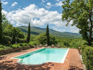 5 bedroom villa, private pool and super views, Caprese Michelangelo