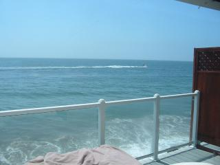 Malibu ocean front apartment on the sand