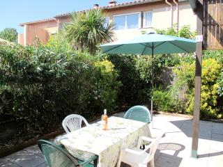 Gated Residence Home, Big Patio, by Beach, Village, Argeles-sur-Mer
