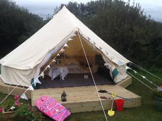 Glamping tent, Cadgwith
