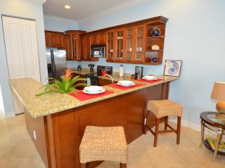 Beautiful Granite Kitchen (Fully Equipped) Overlooks Living, Dining & Outdoor Pool & Lounge Areas...