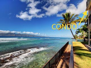 Oceanfront Maui Paradise|Stunning Views|Hear waves, Lahaina