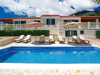 Villa with pool and a view 'Bol'