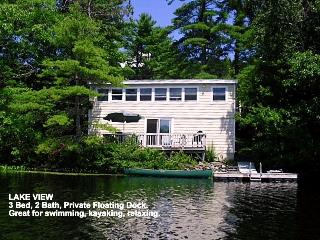 Lake House on Knickerbocker Lake Boothbay ME.