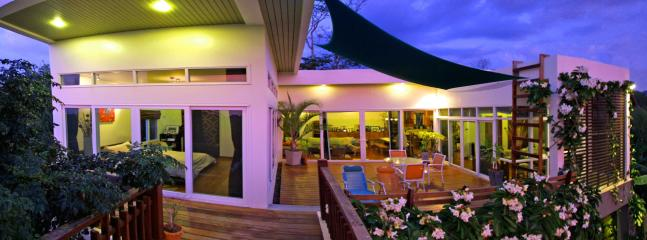 The terrace is open to all rooms | The Levels | luxury, sea-view, villa for rent, Koh Lanta, Thai