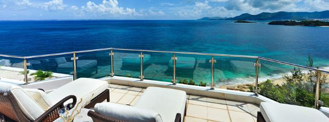 SPECIAL OFFER: St. Martin Villa 320 The Villa Offers A Lot Of Privacy And Beautiful Views Over The Ocean. Can Be Rented As A 3 Or A 5 Bedroom Villa., Terres Basses
