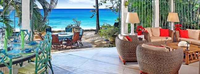 SPECIAL OFFER: Barbados Villa 7 A Beautiful Beachfront Villa With A Wonderful View And Plenty To Offer.
