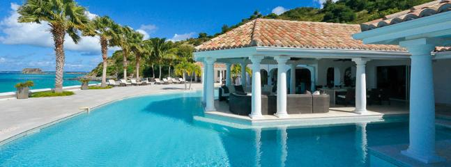 SPECIAL OFFER: St. Martin Villa 10 Located On A Quiet Crystal Clear Water And White Sandy Beach.
