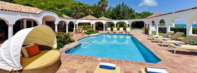 SPECIAL OFFER: St. Martin Villa 54 Commands A Beautiful View Of Baie Rouge Beach And The Island Of Anguilla., Terres Basses