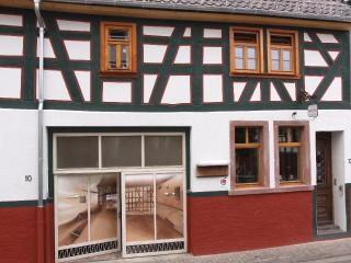 LLAG Luxury Vacation Home in Egelsbach - historical, comfortable, wood furnishings (# 3369)